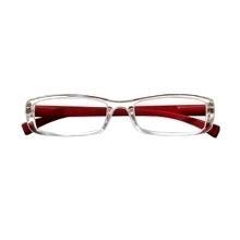 4337c5640 Promoção Óculos de leitura Business Transparente Vermelho